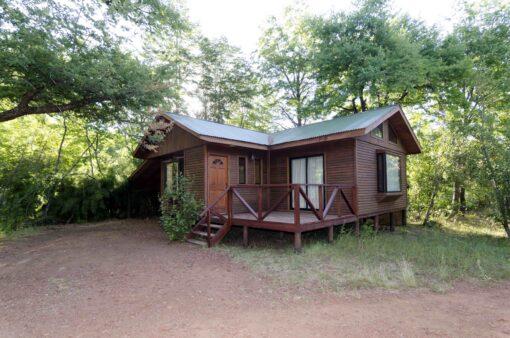 Cabaña Valle las Trancas para 6 personas en verano
