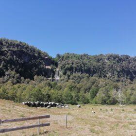 Cascada del Soldado, cerca de cabañas Valle las Trancas